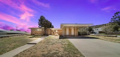 El Paso Single Family Home For Sale: 3300 Emerald Drive