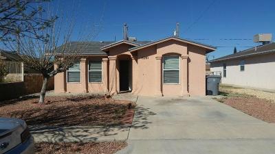 El Paso Single Family Home For Sale: 6241 Michel