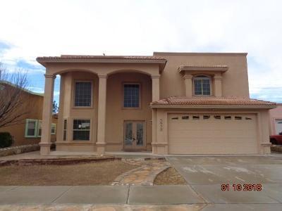 El Paso TX Single Family Home For Sale: $169,900