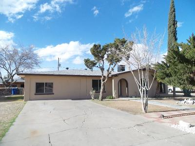 El Paso TX Single Family Home For Sale: $97,000