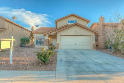 El Paso Single Family Home For Sale: 14200 Pacific Point Drive