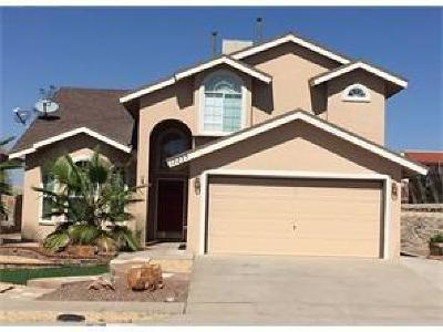 El Paso Single Family Home For Sale: 12235 Tierra Arroyo Drive