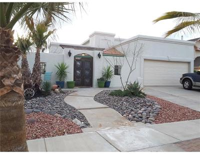 El Paso Single Family Home For Sale: 3305 Crown Hill Place