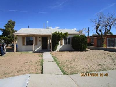El Paso Single Family Home For Sale: 6369 Saint Lo Drive