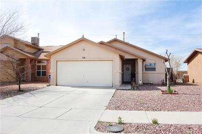 El Paso TX Single Family Home For Sale: $107,500