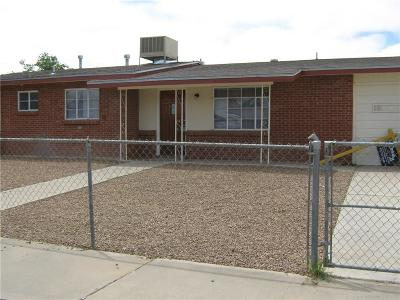 El Paso Single Family Home For Sale: 9577 Albany Drive