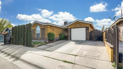 El Paso TX Single Family Home For Sale: $108,000