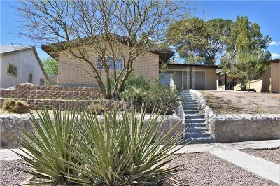 El Paso Single Family Home For Sale: 1523 Carlyle Place