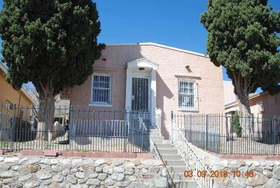 El Paso Single Family Home For Sale: 1861 Kentucky Street