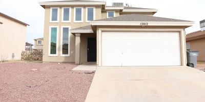 El Paso TX Single Family Home For Sale: $147,000
