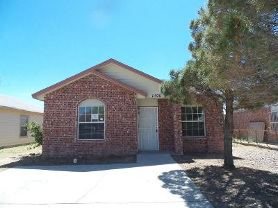 El Paso Single Family Home For Sale: 11976 Braveheart Avenue