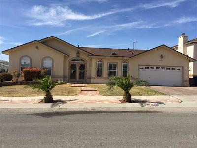 El Paso Single Family Home For Sale: 1257 Rosa Guerrero Place