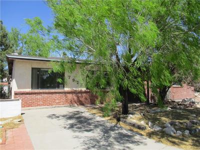 Single Family Home For Sale: 7923 Santa Maria Court