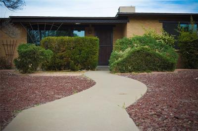 El Paso Single Family Home For Sale: 4501 Leeds Avenue