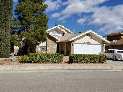El Paso TX Single Family Home For Sale: $171,000