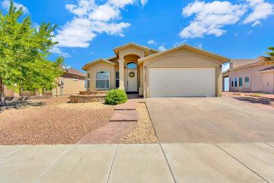 El Paso Single Family Home For Sale: 14425 Smokey Point