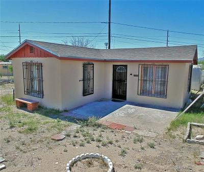 El Paso Single Family Home For Sale: 5932 Tampa Avenue