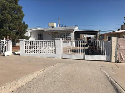 El Paso Single Family Home For Sale: 3825 McConnell