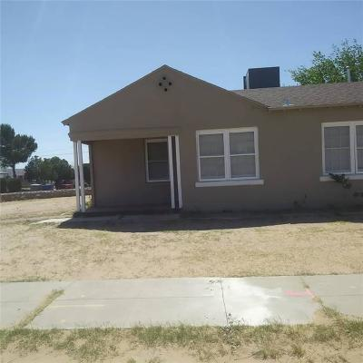 Single Family Home For Sale: 823 Ellis Street