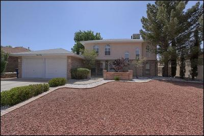 El Paso Single Family Home For Sale: 6116 Via Suceso Drive