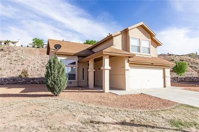 El Paso Single Family Home For Sale: 1500 Ruth Deerman Place