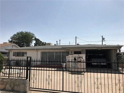 El Paso Single Family Home For Sale: 7304 Bellrose Drive