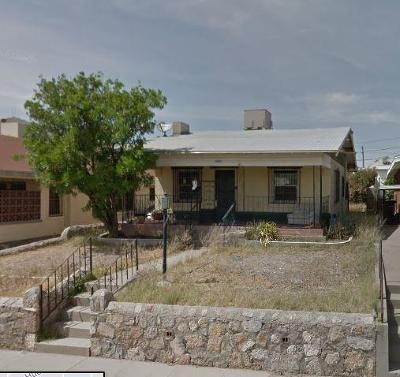 El Paso Single Family Home For Sale: 3309 Yandell Drive