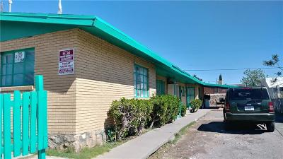 El Paso Multi Family Home For Sale: 3803 Tyler Avenue #1-4
