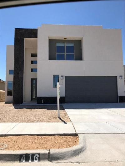 El Paso Single Family Home For Sale: 416 Briarcliff Court