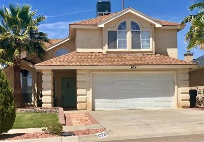 El Paso Single Family Home For Sale: 6521 Dakota Ridge Drive