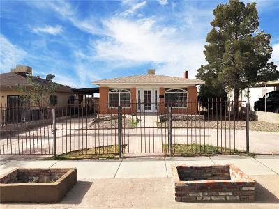 Single Family Home For Sale: 3722 Van Buren Avenue