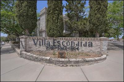 Condo/Townhouse For Sale: 6700 Escondido Drive #B4