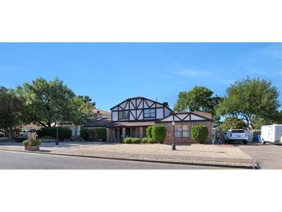 El Paso Single Family Home For Sale: 1731 Billy Casper Drive
