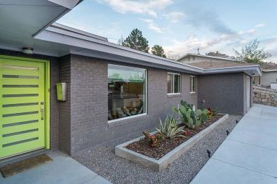El Paso Single Family Home For Sale: 4024 Santa Ana Drive