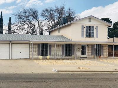 El Paso Single Family Home For Sale: 8536 Morley