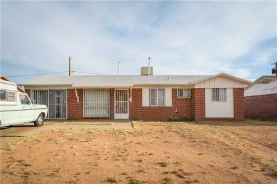 El Paso TX Single Family Home For Sale: $74,990