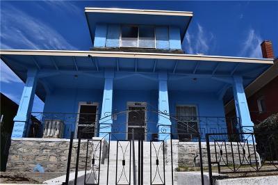 El Paso Multi Family Home For Sale: 1007 California Avenue #.