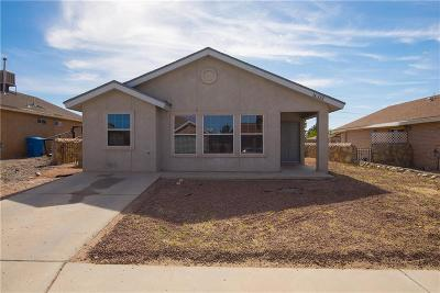 Socorro Single Family Home For Sale: 10777 Spring Valley Circle