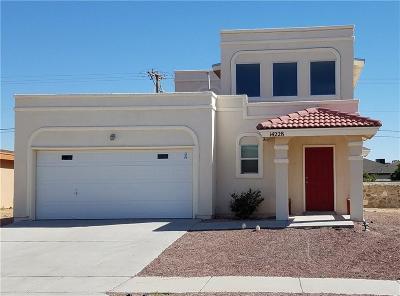 El Paso TX Single Family Home For Sale: $176,000