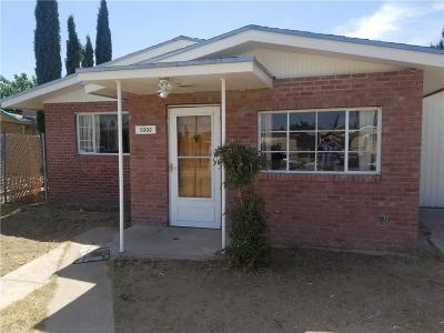 El Paso Single Family Home For Sale: 9303 Albany Drive