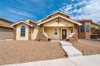 El Paso Single Family Home For Sale: 4020 Hueco Valley Drive