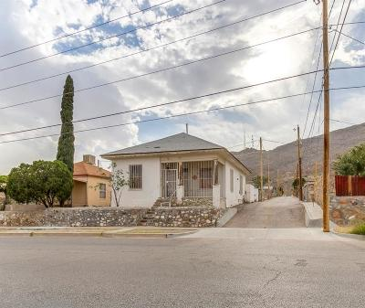 El Paso Single Family Home For Sale: 1505 Dakota Street