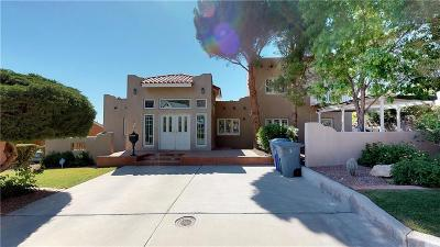 El Paso Single Family Home For Sale: 1219 Stockwell Lane