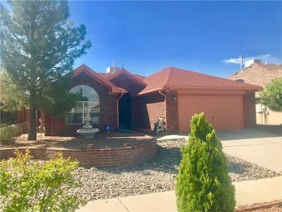 El Paso TX Single Family Home For Sale: $169,999