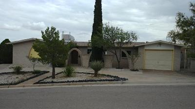 El Paso TX Single Family Home For Sale: $189,100