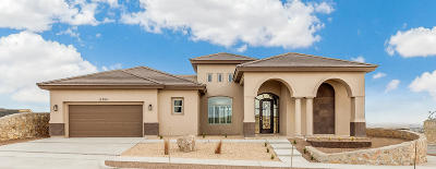 El Paso Single Family Home For Sale: 12304 Biddleston Drive