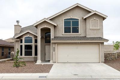 Horizon City Single Family Home For Sale: 12573 Broad Autumn Court
