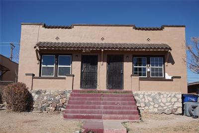 El Paso Single Family Home For Sale: 3609 Sacramento Avenue #1 & 2