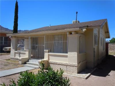 El Paso Single Family Home For Sale: 3113 Memphis Avenue