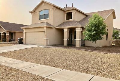 El Paso Single Family Home For Sale: 7279 Camino Del Sol